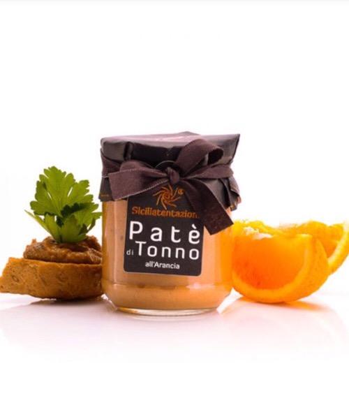 Patè di tonno all'arancia Sicilia Tentazioni