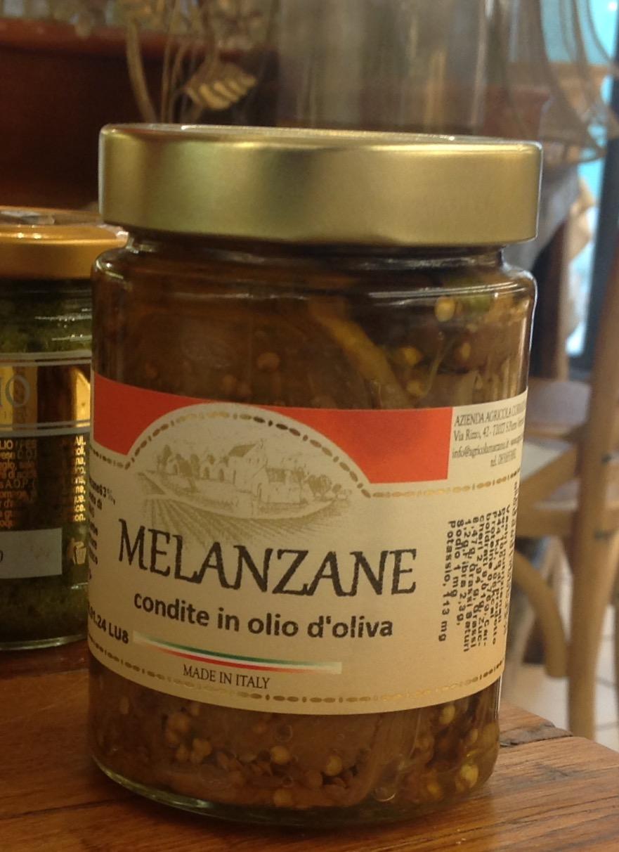 Melanzane in olio d'oliva Marzano Azienda Agricola