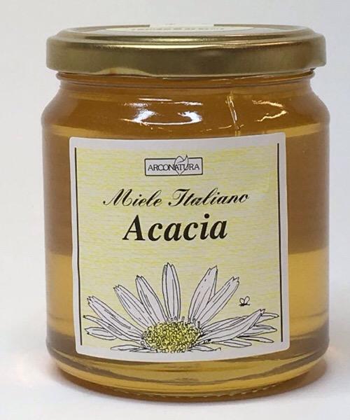 Miele di Acacia italiano da 400gr