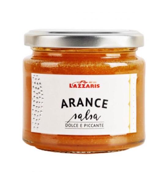 Salsa di arance  Lazzaris