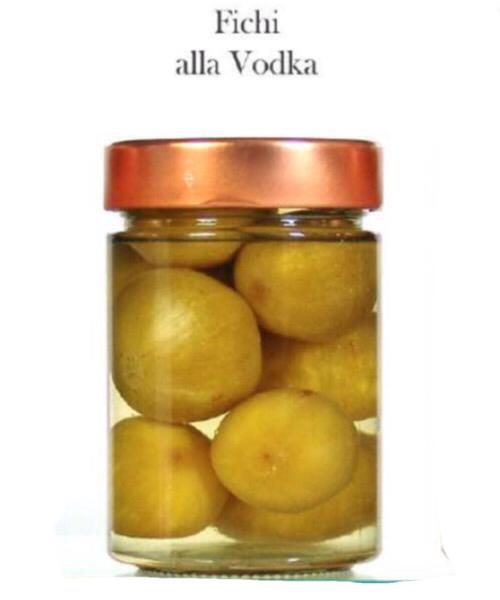 Fichi alla vodka Frutta al liquore