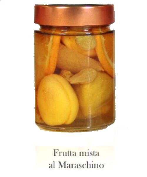 Frutta mista al Maraschino Frutta al liquore