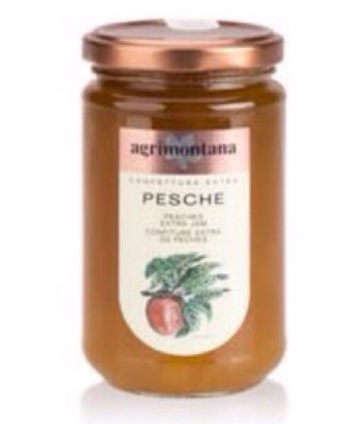 Confettura extra di Pesche Agrimontana da 350gr